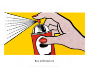 Roy Lichtenstein Spray Art Print