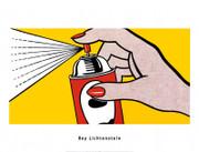 Roy Lichtenstein Spray Art Print