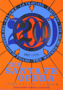Robert Indiana Santa Fe Opera, 1976 Limited Edition Art Print