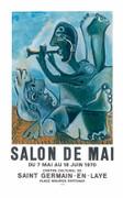 Pablo Picasso Salon de Mai Limited Edition Art Print