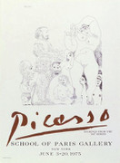 Pablo Picasso 347 Series Etchings Art Print