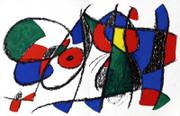 Joan Miro Original Lithograph VIII Art Print