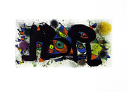 Joan Miro Sculptures Art Print