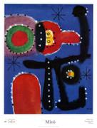 Joan Miro Pintura, 1954 Art Print
