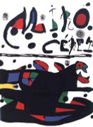 Joan Miro Ceret Art Print