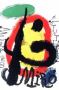 Joan Miro Peintures Art Print