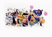Joan Miro Peintures  Serigraph Art Print