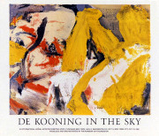 Willem De Kooning In the Sky Exhibition Art Print