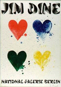 Jim Dine Four Hearts