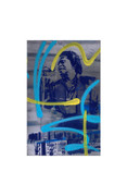Bobby Hill James Brown Pencil signed artist's proof Giclee Art Print