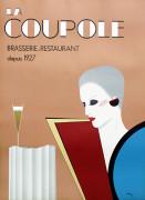 Razzia La Coupole Art Print
