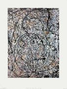 Jackson Pollock Sentieri Ondulati