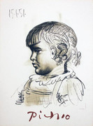Pablo Picasso Child Portrait