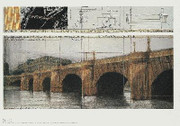 Christo Le Pont Neuf, Paris SIGNED