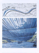 Christo Over the River, Project for the Arkansas River