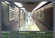 Damien Hirst The Elusive Truth Hospital Corridor