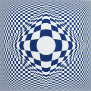 Stunning Vertigo, Ltd Ed Silk-screen, Victor Vasarely