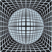 Dynamic Ter-ur, Ltd Ed Silk-screen, Victor Vasarely - Large!