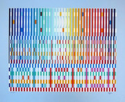 Beautiful The Blessing, Ltd Ed Silk-screen, Yaacov Agam - Large!