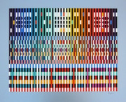 Beautiful Thanksgiving, Ltd Ed Silk-screen, Yaacov Agam