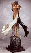 Exciting Lovers & Idol (Bronze), Ltd Ed, Erte - Mint!