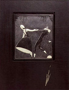 Fabulous Pas de Duex (Bronze) Bas Relief & Signed Deluxe Book, Ltd Ed, Erte - Mint!
