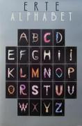 Great The Alphabet, 1977 Vintage Poster, Erte - Signed!