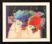 Beautiful Mondrian Ladies Serigraph, Peter Max - Signed