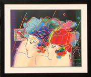 Beautiful Mondrian Ladies Serigraph, Peter Max - Signed