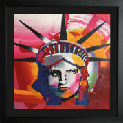 Fabulous Liberty 2000l Lithograph, Peter Max - Signed