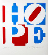 Splendid Robert Indiana, Hope, 2008