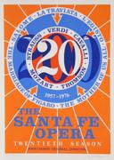Dynamic Robert Indiana, The Santa Fe Opera, 1976
