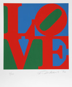 Fabulous Robert Indiana, The Book of Love 3, 1996