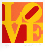 Beautiful Robert Indiana, The Book of Love 10, 1996