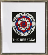 Splendid Robert Indiana, The Rebecca, 1983