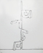 Fabulous Jasper Johns - Blue, 1971 - Lithograph - Signed