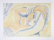 Fab! Pablo Picasso Estate Collection Femme Couchee Signed with COA