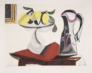 Pablo Picasso Estate Collection Nature Morte au Citron et a la Cruche Hand Signed with COA
