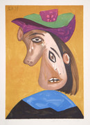 Pablo Picasso Estate Collection Le Pleureuse Hand Signed with COA