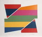 Splendid Rotation I Serigraph, Larry Zox - Signed