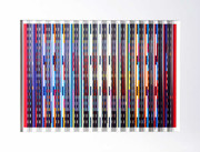 Great Midnight Blue Prismagraph,Yaacov Agam - Signed