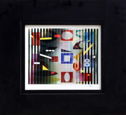 Dynamic Petit Secret Agamograph,Yaacov Agam - Signed