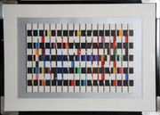 Splendid One and Another 2 Serigraph,Yaacov Agam - Signed