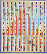 Beautiful Homage to Israel Serigraph,Yaacov Agam - Signed