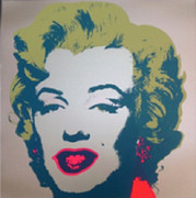 Andy Warhol Marilyn Monroe Sunday B Morning Serigraph Silkscreen #5