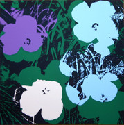 Andy Warhol Fab Flowers Sunday B Morning Serigraph Silkscreen Print #1