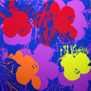 Andy Warhol Fab Flowers Sunday B Morning Serigraph Silkscreen Print #3