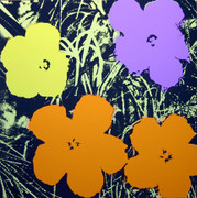 Andy Warhol Fab Flowers Sunday B Morning Serigraph Silkscreen Print #4