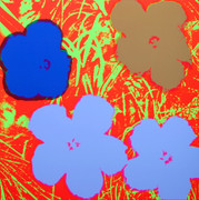 Andy Warhol Fab Flowers Sunday B Morning Serigraph Silkscreen Print #6