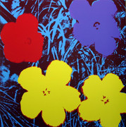 Andy Warhol Fab Flowers Sunday B Morning Serigraph Silkscreen Print #8